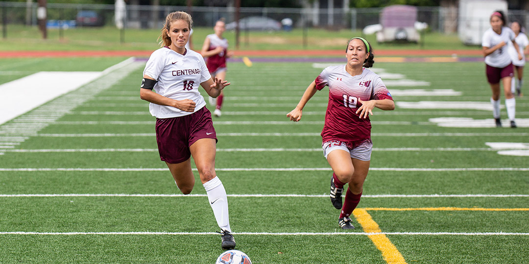 Montes' Hat Trick Helps Ladies Soccer Erase Another 2-0 Deficit on Weekend
