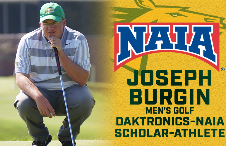 Joe Burgin Named Daktronics-NAIA Scholar-Athlete