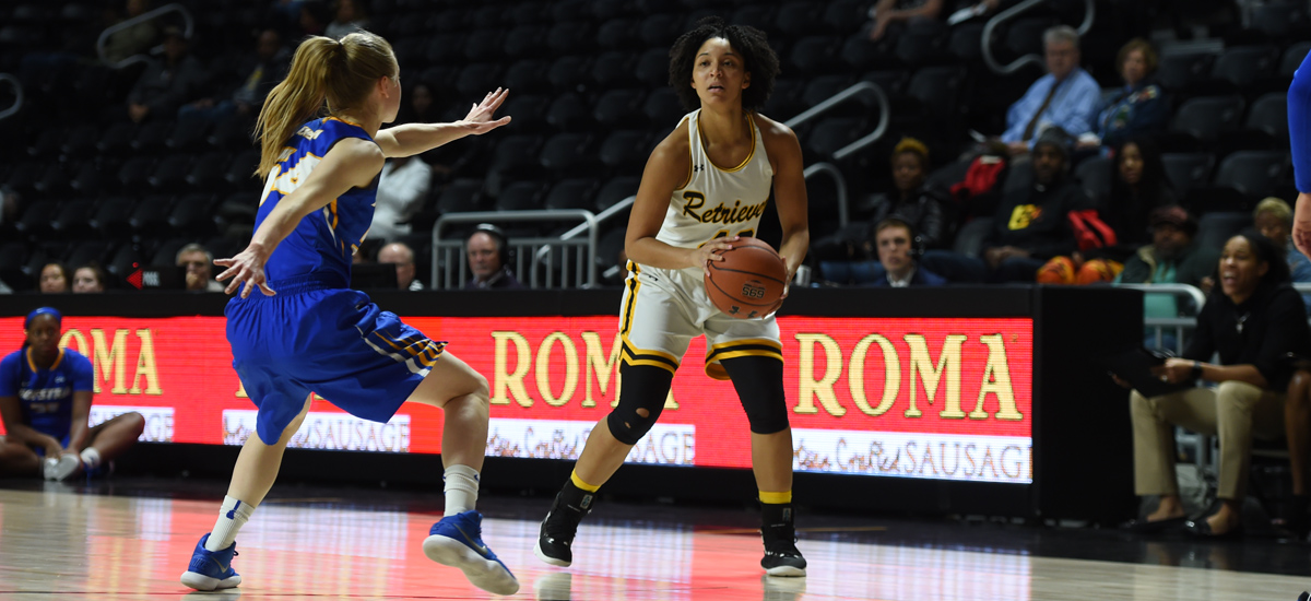 Retrievers Fall to Maine, 84-44 on Saturday
