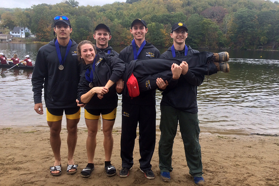 Novice Four Notches Another Win at Quinsigamond Snake Regatta