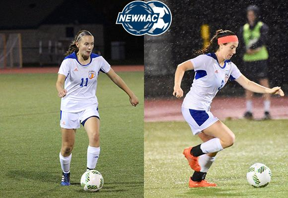 Borden, Hines Named to NEWMAC Women's Soccer Academic All-Conference Team