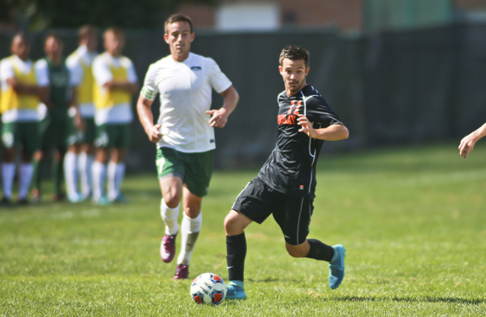 Oilers Fight to 1-1 Draw against Pioneers