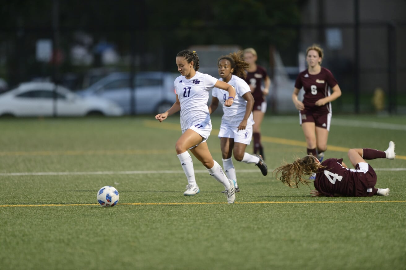 Four First Half Goals Lift UB Women's Soccer To Home Win Over Adelphi