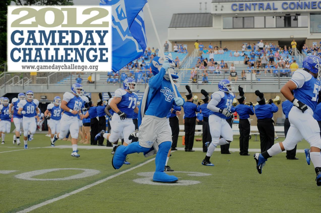 CCSU Takes On 2012 Game Day Challenge