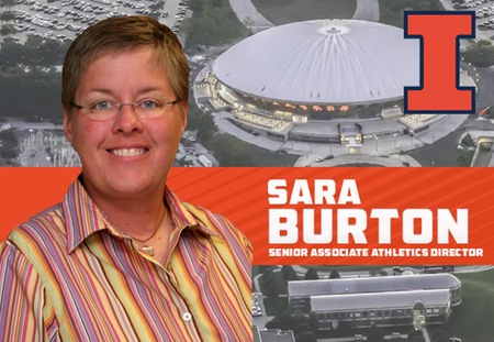 Sara Burton Named Senior Associate Athletics Director at Illinois