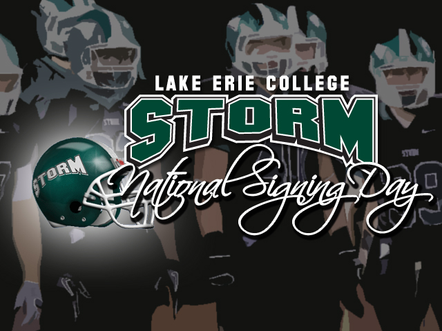 Storm Football Announces Initial 2013 Signees