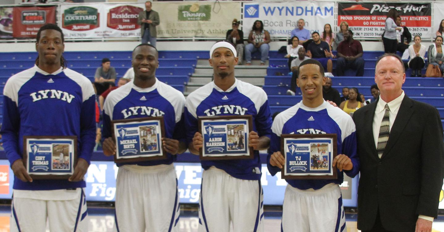 Panthers Spoil Men's Basketball Senior Night