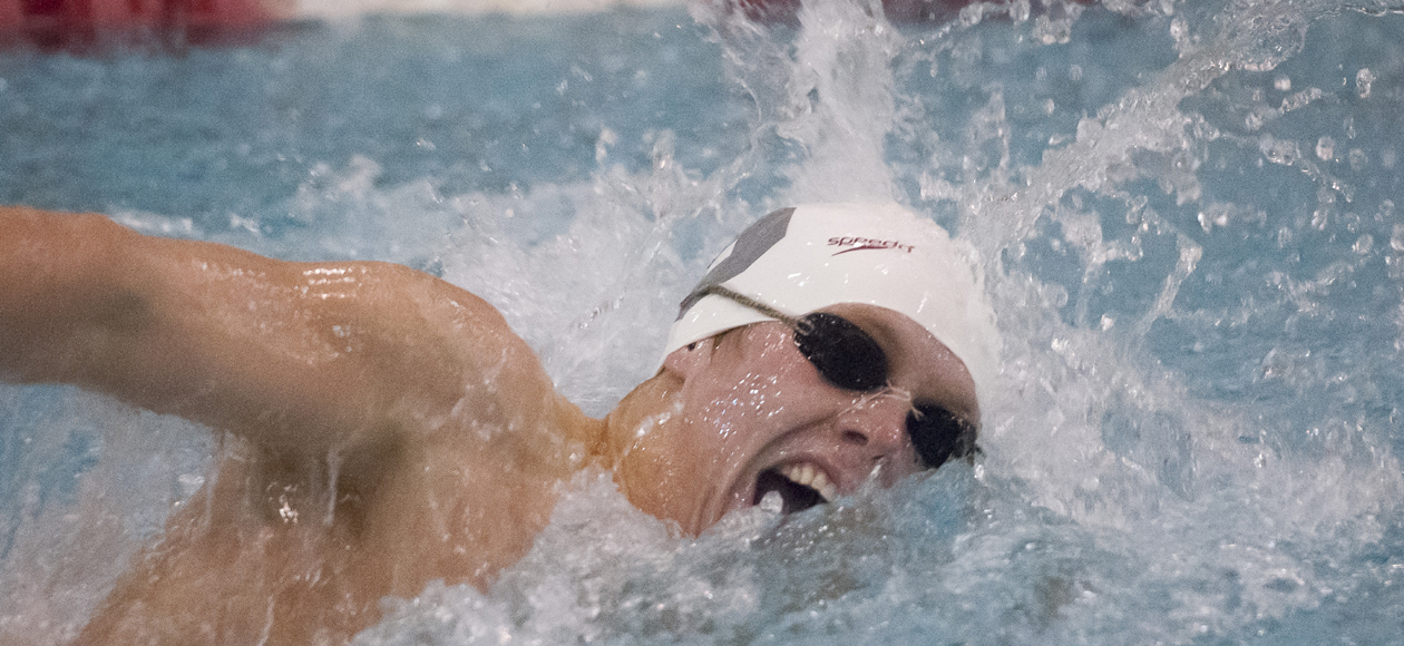 Men's Swimming and Diving Splits at Ed & Judy Golden Invitational