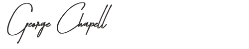 George Chapell signature