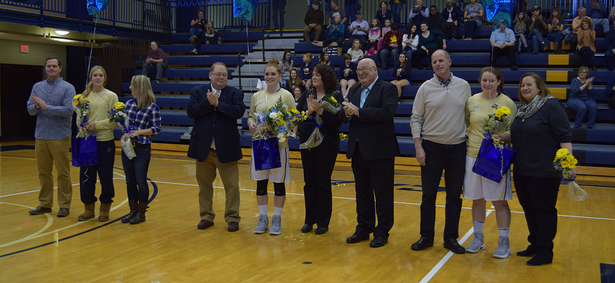 Juniata Falls in Well-Fought 76-70 Loss to Moravian on Senior Day