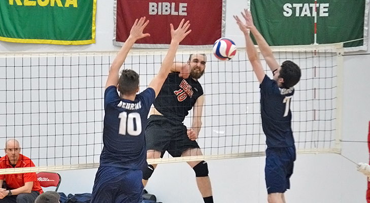 Kills Record Falls In Four-Set Loss To Penn St.-Behrend