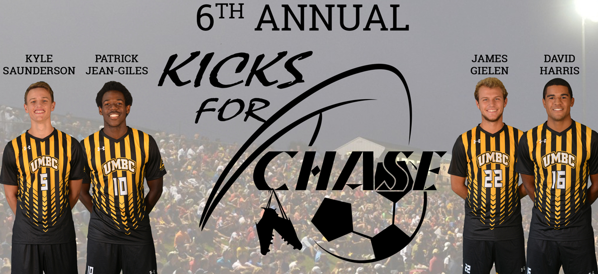 "UMBC Men's Soccer to Host Sixth Annual ""Kicks for Chase"" Game Against Delaware"