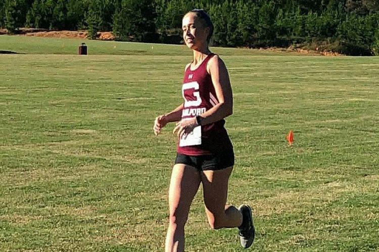 Marion Cooper Places First at Livingstone Cross Country Invitational