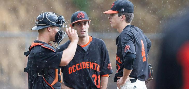 Oxy Drops Game 1 of SCIAC Tourney