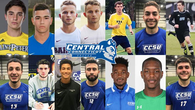 Men's Soccer Announces Newcomers for 2019