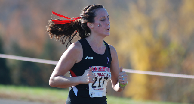 Lynchburg Women Place Third at ODAC XC Meet
