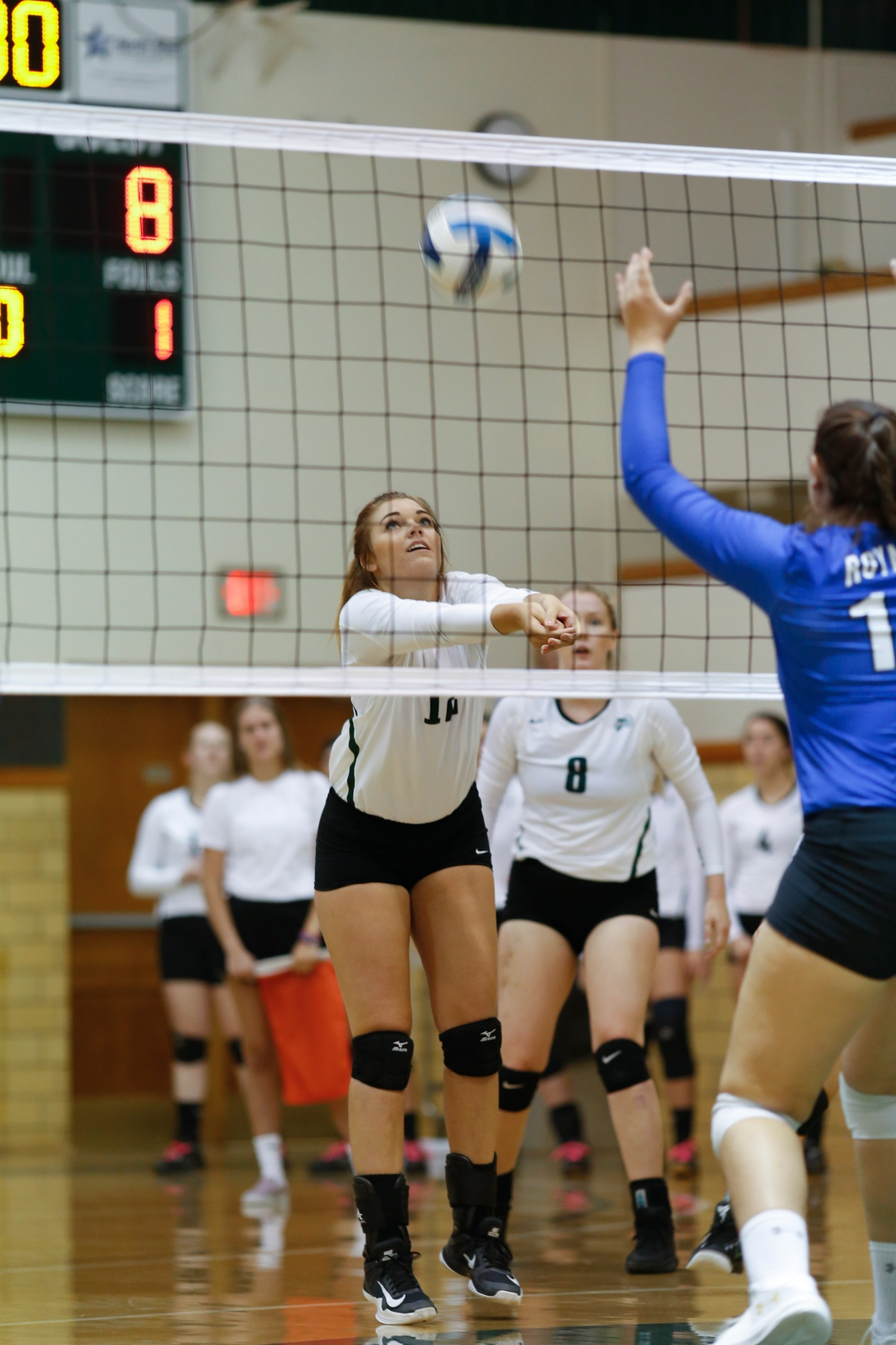Errors Cost DCB Volleyball