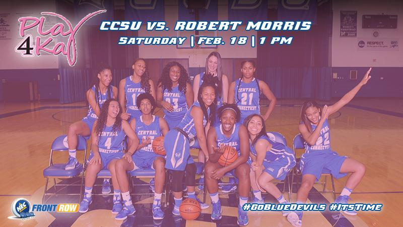 Women's Basketball #Plays4Kay Saturday Against NEC Tied Forerunner, Robert Morris