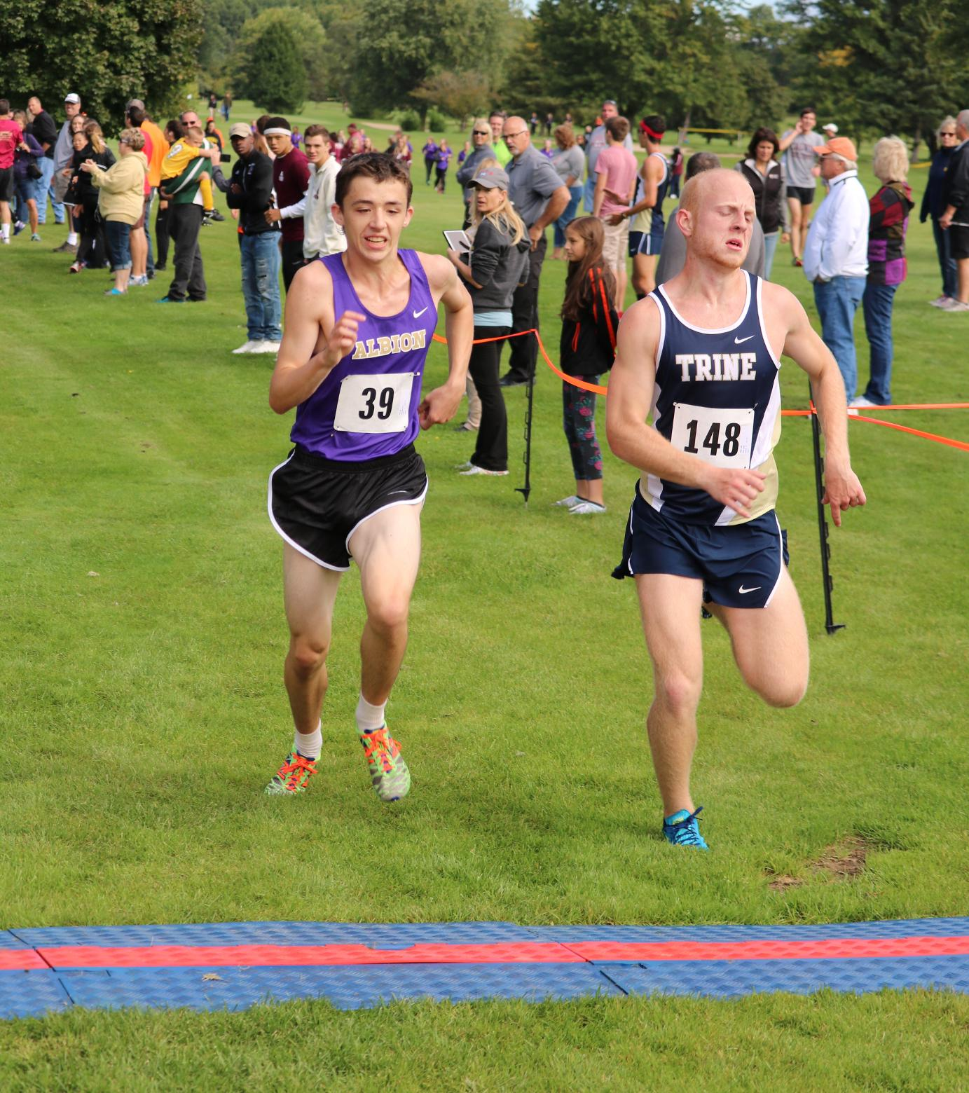 Men's Cross Country Places Third at MIAA Jamboree