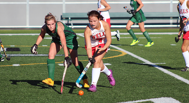 Late Rally Not Enough In 5-3 Field Hockey Loss