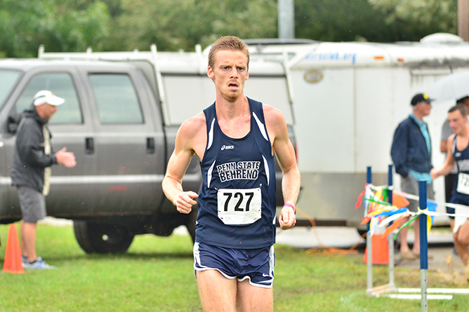 Men's Cross Country Races at Mid-East Regional