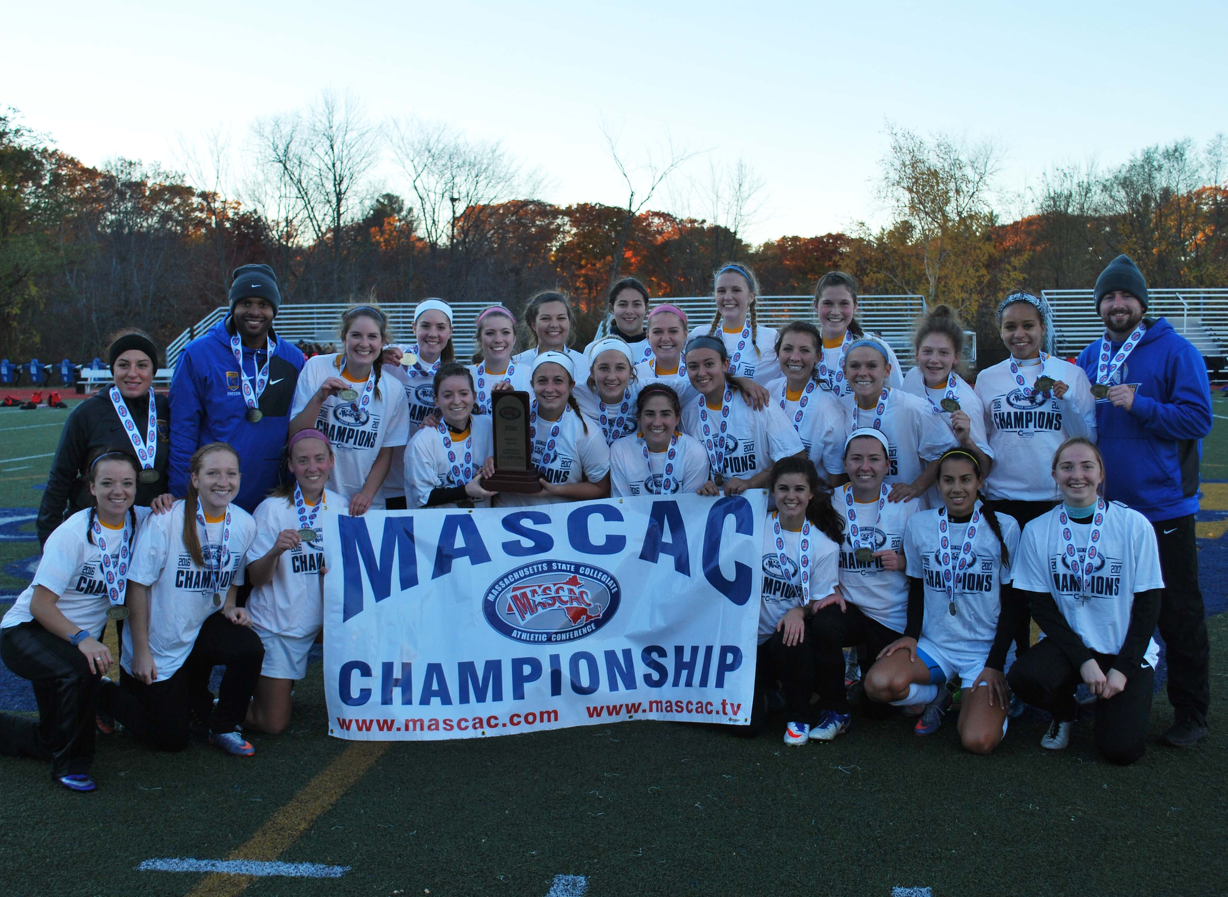 Women's Soccer Crowned MASCAC Tournament Champions; Howland Scores Late Game-Winner