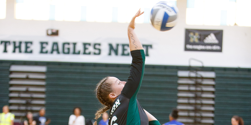 Women's Volleyball Soars by Unity, 3-0