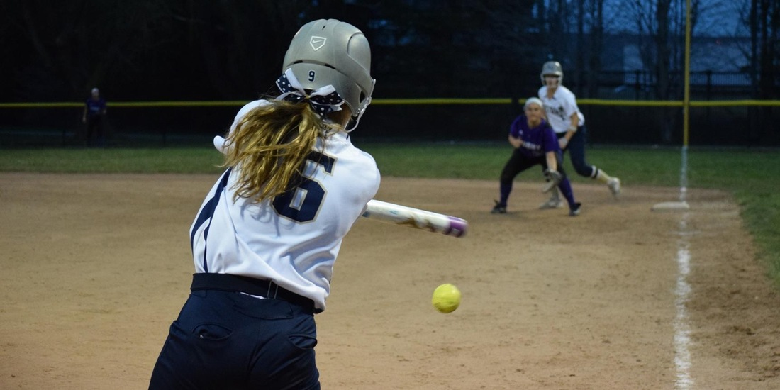 Softball Edged by No. 7 Amherst, 5-3