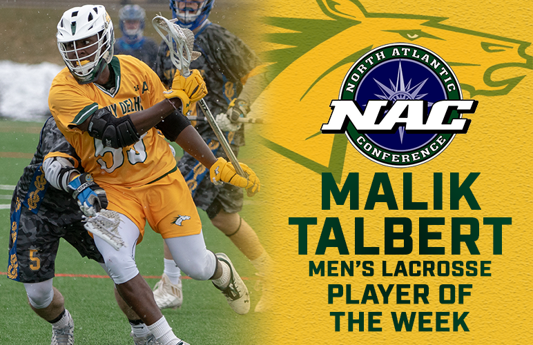 Talbert's Consecutive Four-Goal Days Earn Him Second NAC Player of the Week