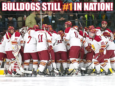 FSU Hockey Ranked #1 Again This Week!