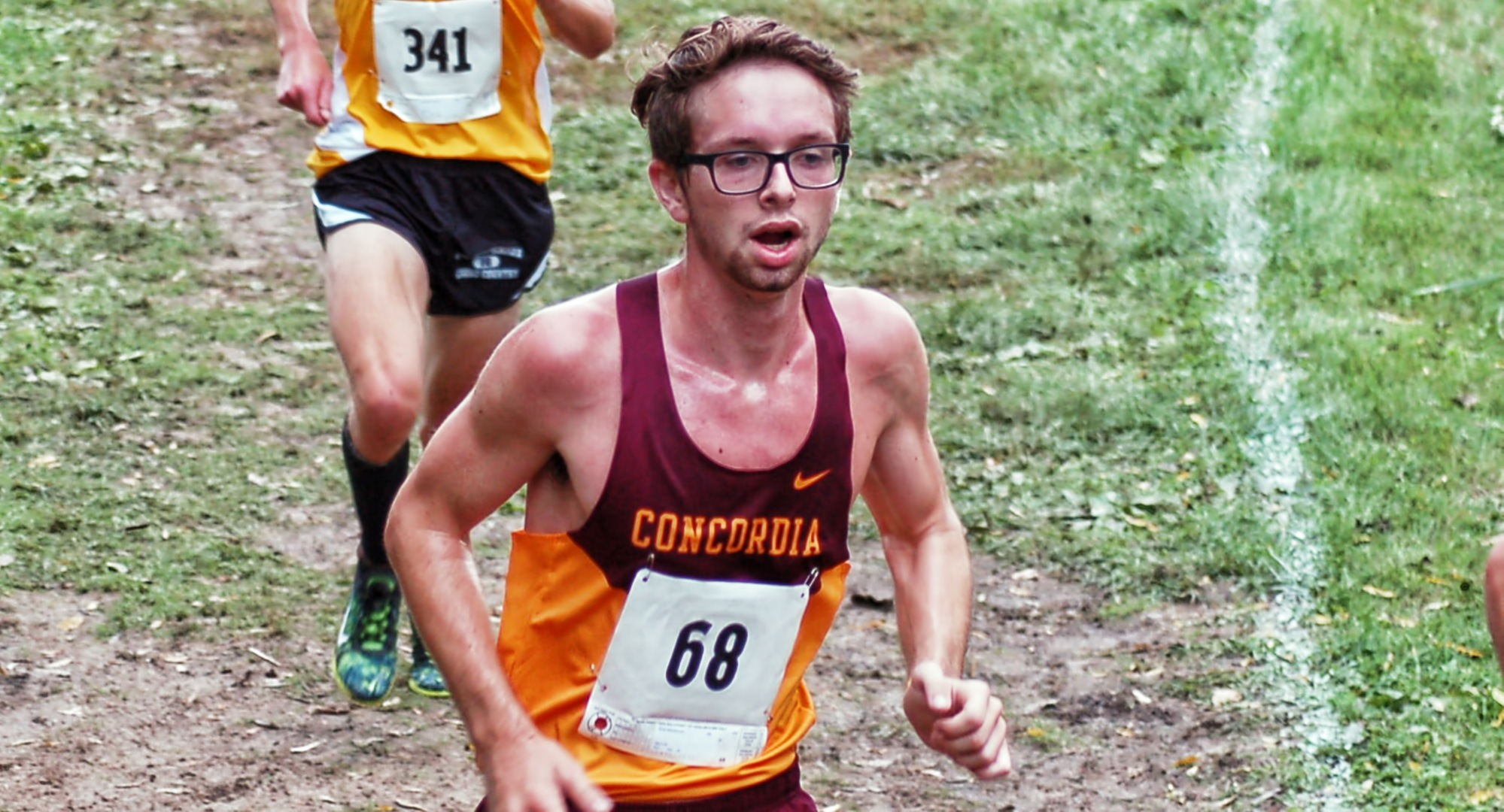Junior Eric Wicklund led Concordia at the MSU Moorhead Twilight Meet for the second straight year.