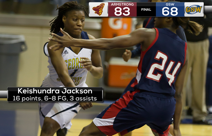 Jackson Career Night & Hudson Gets Double-Double In Loss