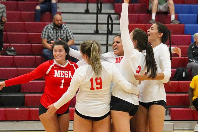 #12 Mesa Wins Slugfest Against #7 Glendale in Five Sets