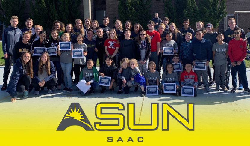 Student-Athletes Connect at ASUN Winter SAAC Meetings in Jacksonville