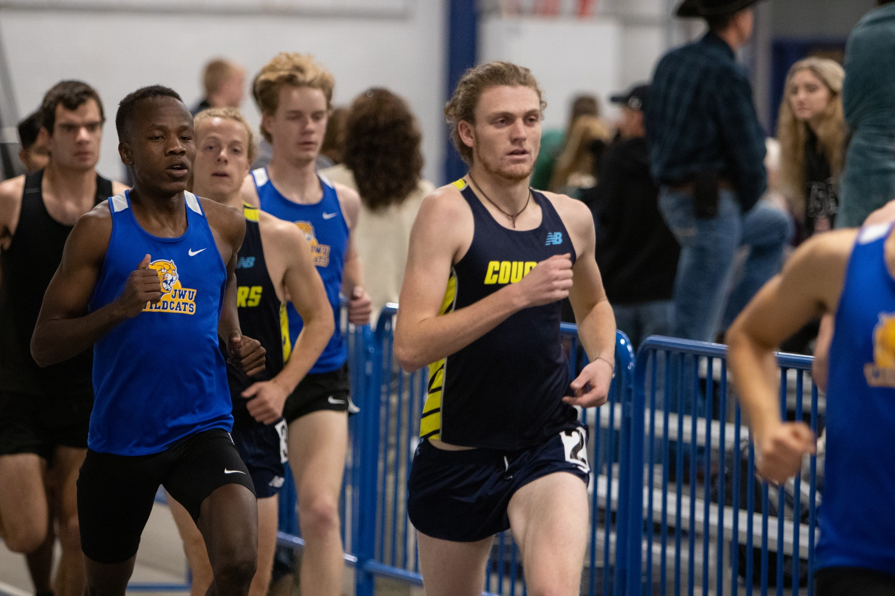 Men's track opens indoor season at Mines