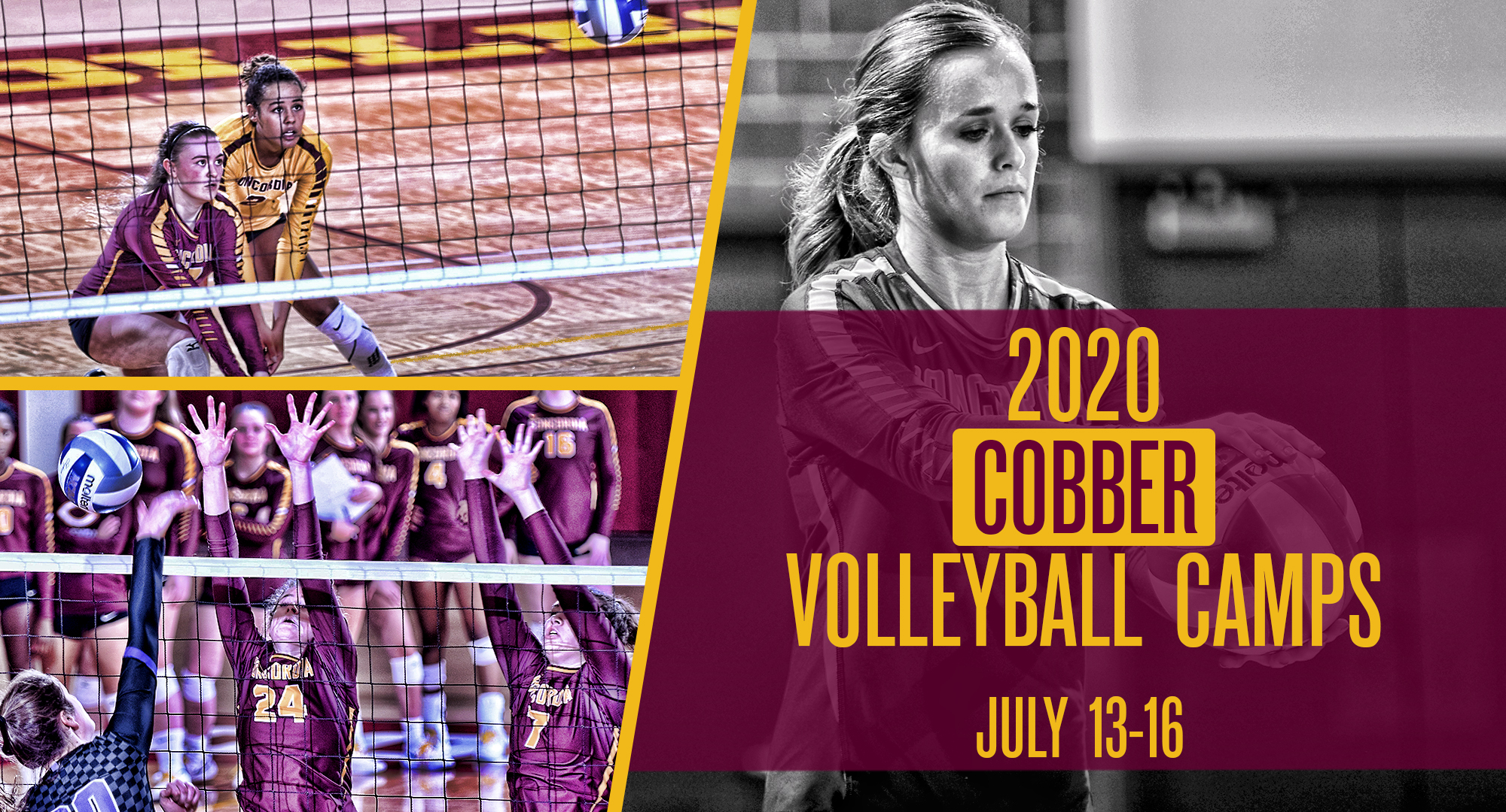 2020 Cobber Volleyball Camps