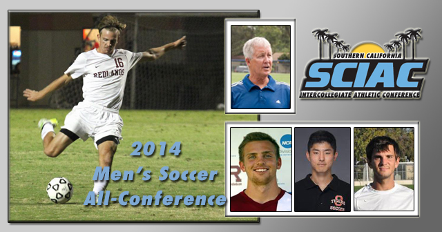 SCIAC All-Conference Men's Soccer Honors