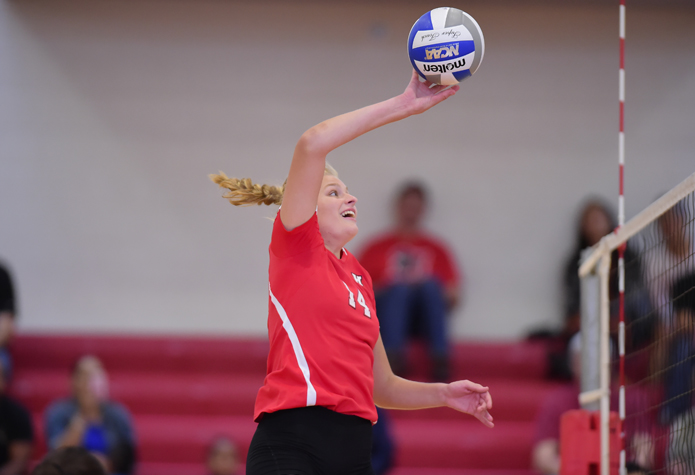 Volleyball Sweeps Wilkes, Penn State Berks