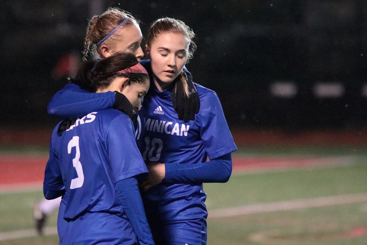 The Dominican women's soccer team saw a historic season come to an end on Friday evening with a 2-1 loss to Otterbein in the opening round of the 2018 NCAA Division III Women's Soccer Championship tournament.