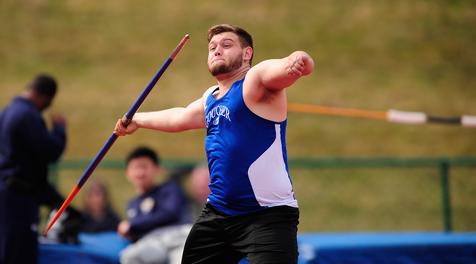 Darby Bauer Named Landmark Conference's Men's Field Athlete of the Week