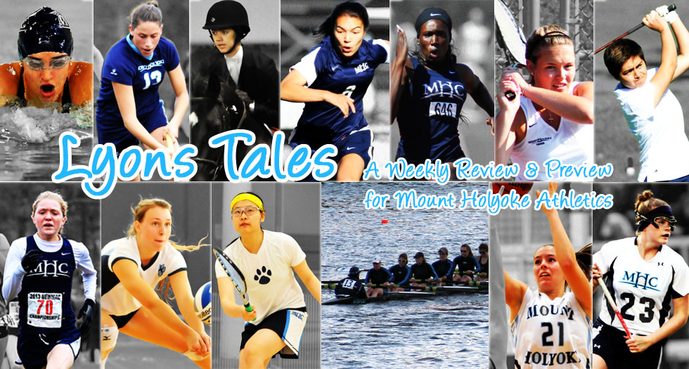 Lyons Tales: A Review & Preview of Mount Holyoke Athletics for Oct. 27th