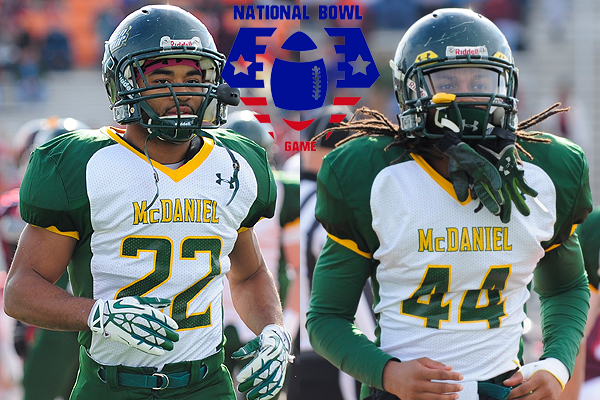 Cousar, Rollins to play in National Bowl