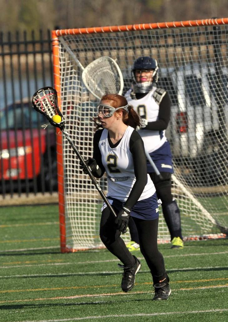 Doucette Nets Four Goals, Harris Makes Eight Saves As Women's Lacrosse Drops MASCAC Decision At Fitchburg State