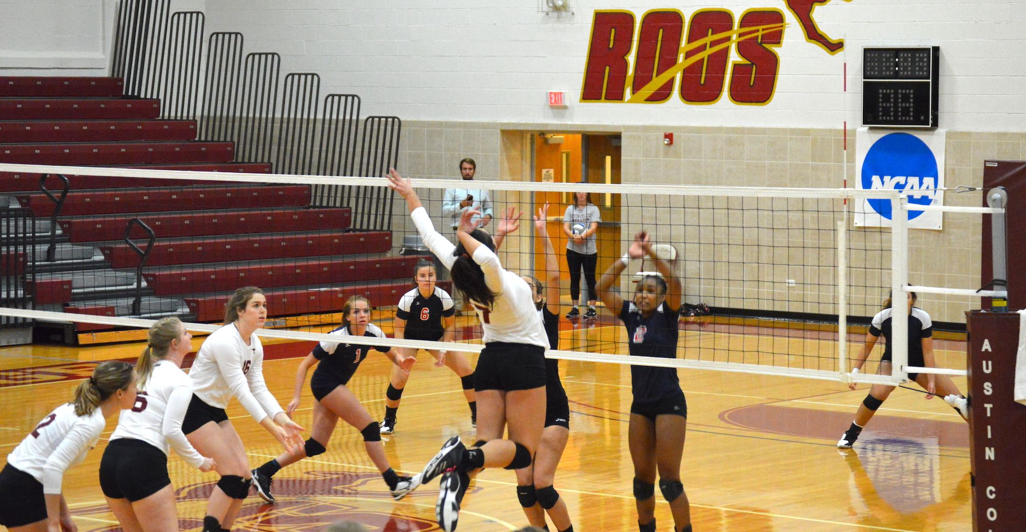 'Roos Sweep Jarvis Christian and Arlington Baptist