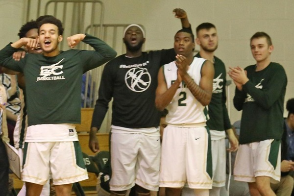 Men's Hoops Mounts Comeback Against Lesley For First Win