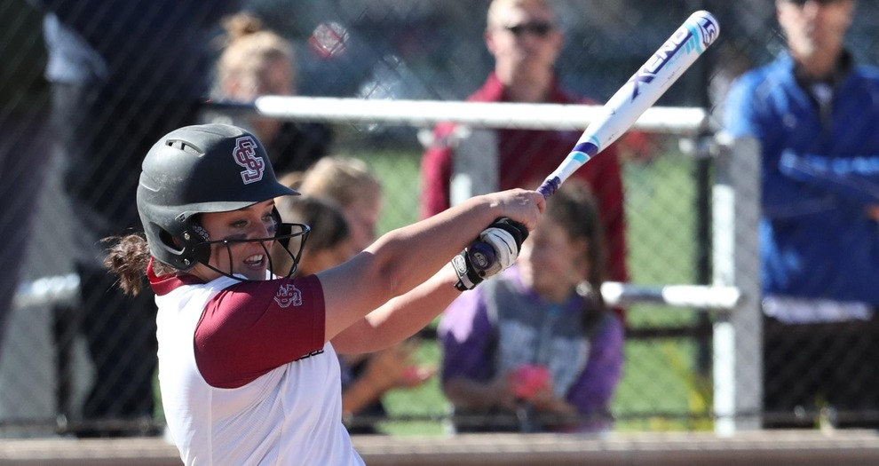 Softball Earns Split with Exciting Win in Finale of Bronco Classic