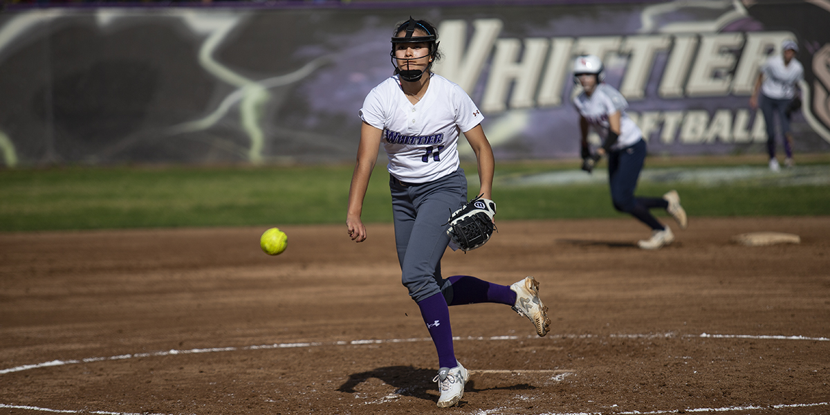 Softball picks up win and ties Hiram