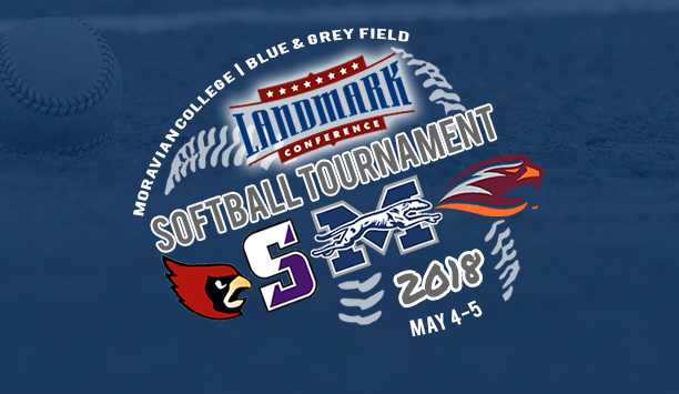 2018 Landmark Conference Tournament at Moravian with Scranton, Susquehanna and Catholic on May 4-5.