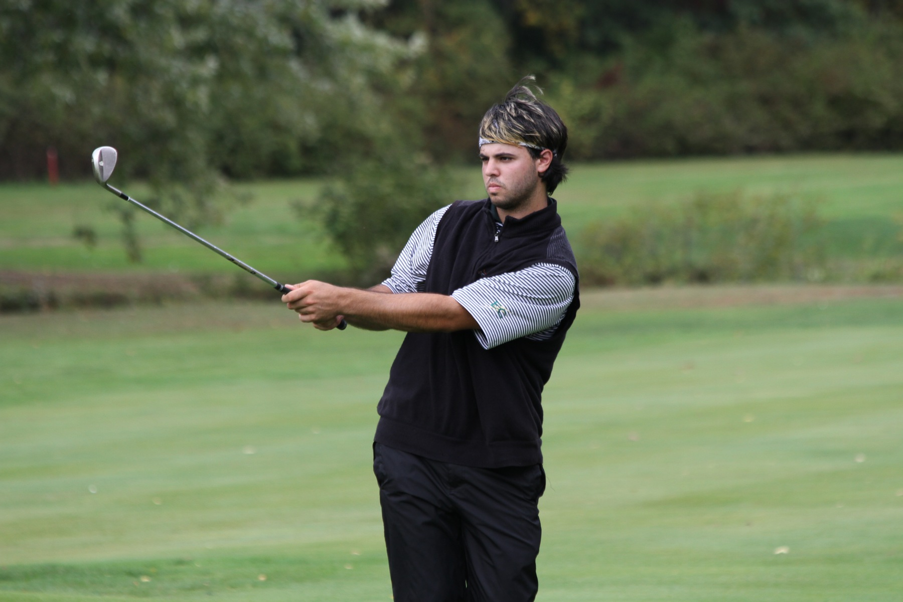 Men's Golf Sixth After Day One Of Blazer Invitational