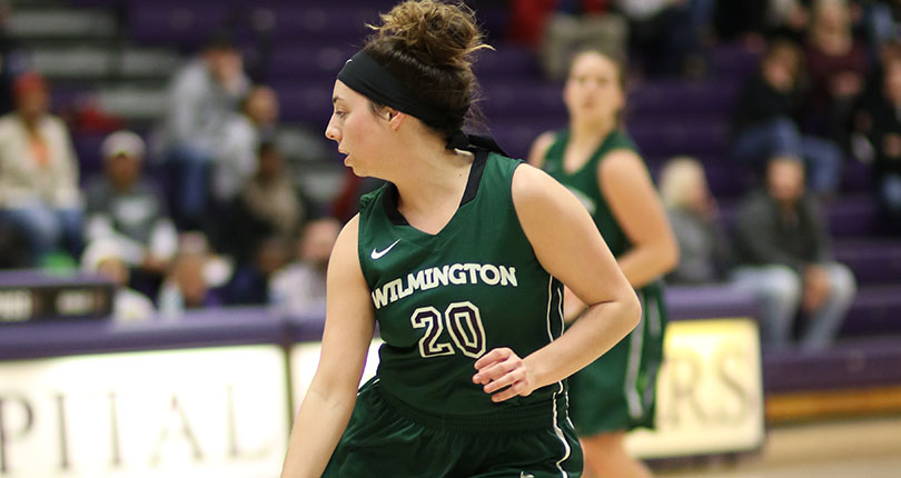 Senior Ashley Andracki (Wilmington College file/John Swartzel)